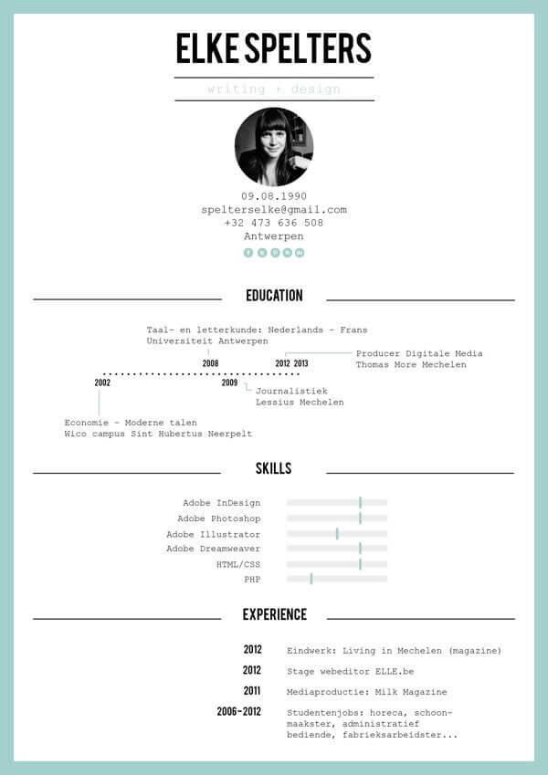 Minimal-Resume-02