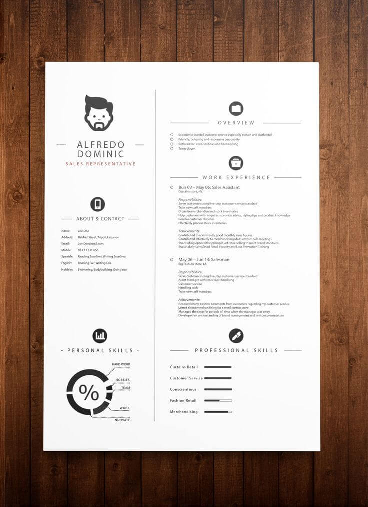 Minimal-Resume-04