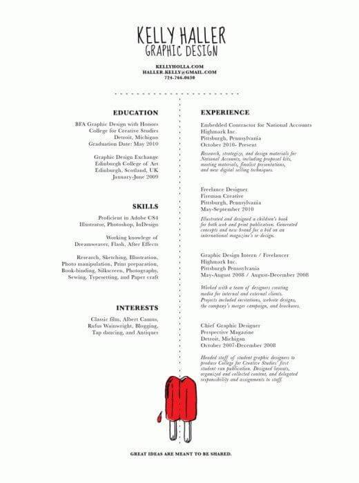 Minimal-Resume-05