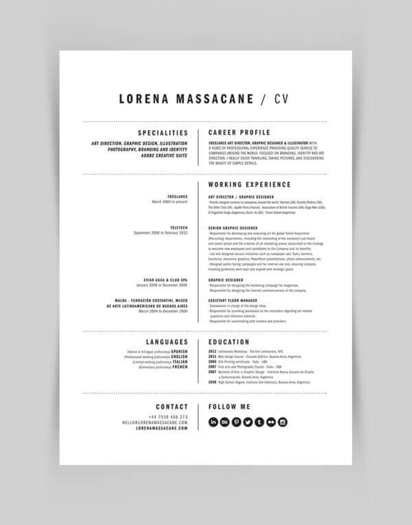 Minimal-Resume-06