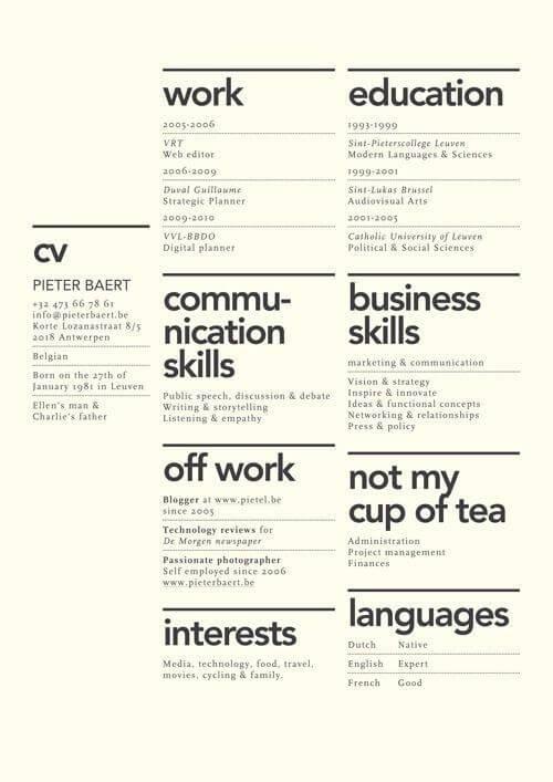 Minimal-Resume-10